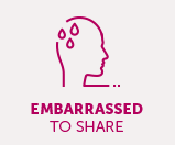 Take control of your care If you feel embarrassed