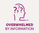 Take control of your care If you feel overwhelmed by information