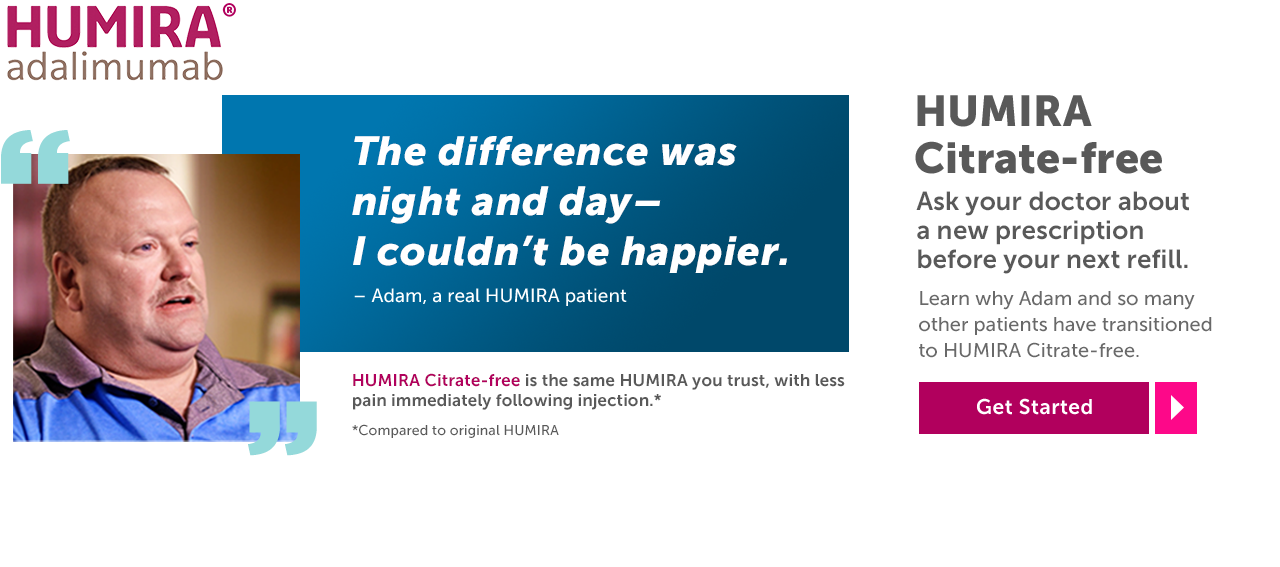 Living with Crohn's Disease | HUMIRA® Patient Stories