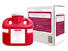 Sharps Container & Mail-Back Disposal Kit