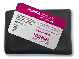 HUMIRA Complete Savings Card
